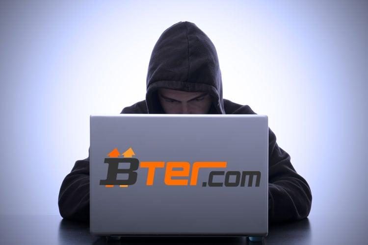 BTER Compromised, 7170 BTC Stolen