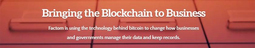 Factom and Factoids: Storing Data in the Blockchain