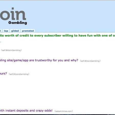 /r/BitcoinGambling – The New and Upcoming Subreddit for Bitcoin Gambling!
