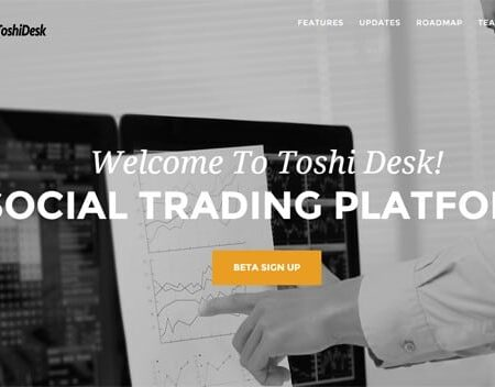 ToshiDesk: The Social Altcoin Trading Platform