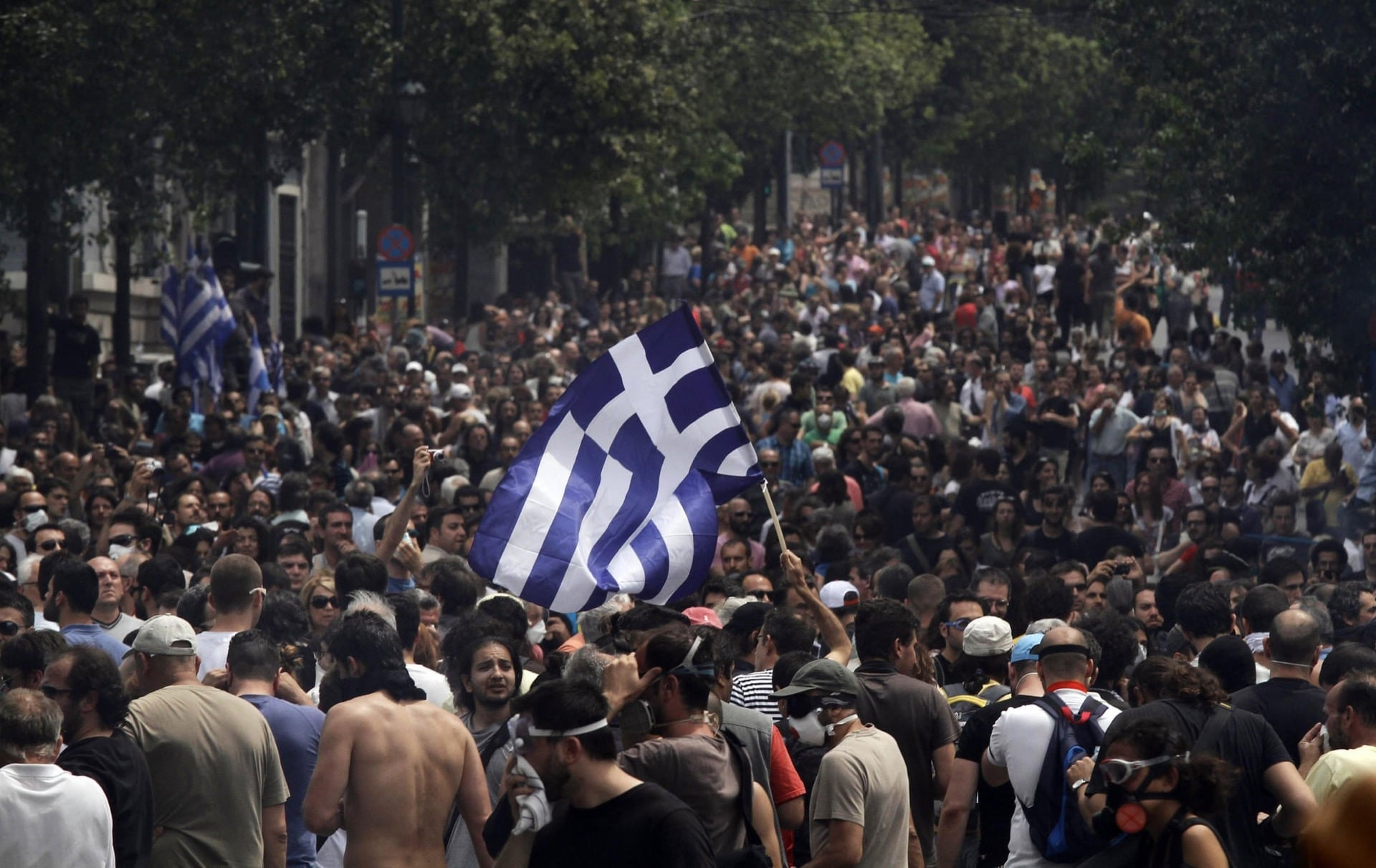 Rise of Greek nationalist 'Golden Dawn' party coincides with Greece's economic crisis