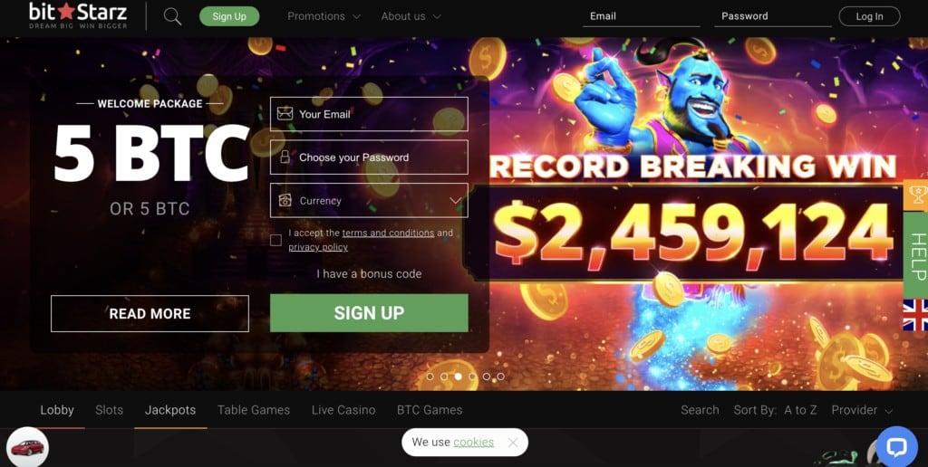 Get promo codes and bonus offers for BitStarz casino