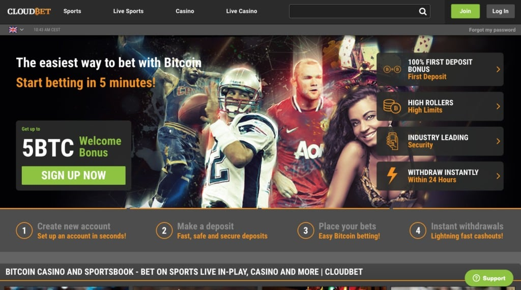 Is Cloudbet one of the best Bitcoin casinos online?