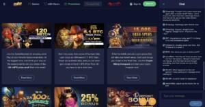 Promotions at mBit Casino