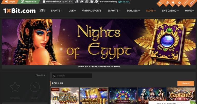 1xBit Online Casino Review
