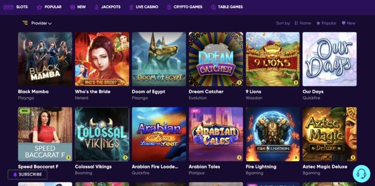 Best Casino Games at BaoCasino