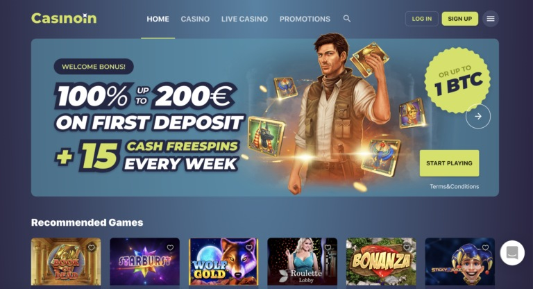 Casinoin Best Casino Review