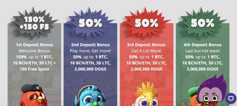 Collect Big Welcome Bonuses at CryptoWild