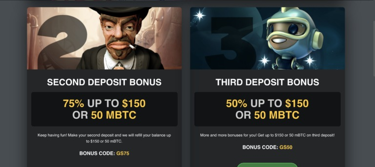 Collect Your Bonus from Golden Star Casino
