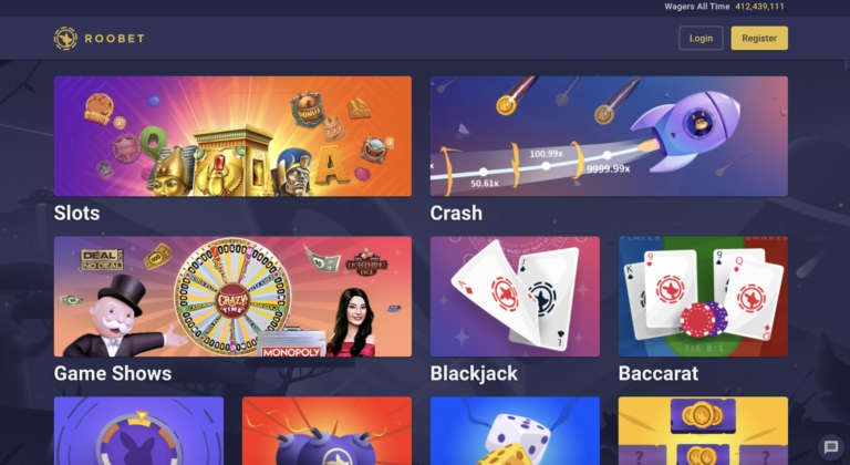 Games and Bonuses at RooBet Online Casino