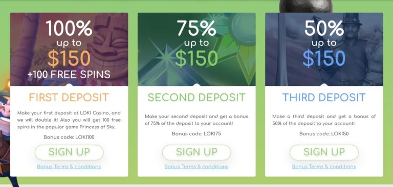 Get Big Bonuses and More at Loki Casino