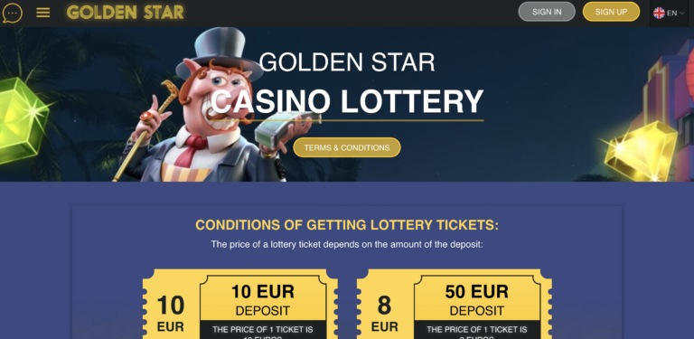 Great Games and Offers at Golden Star Casino