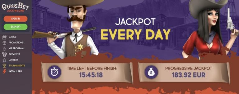 Join Big Tournaments at GunsBet Casino