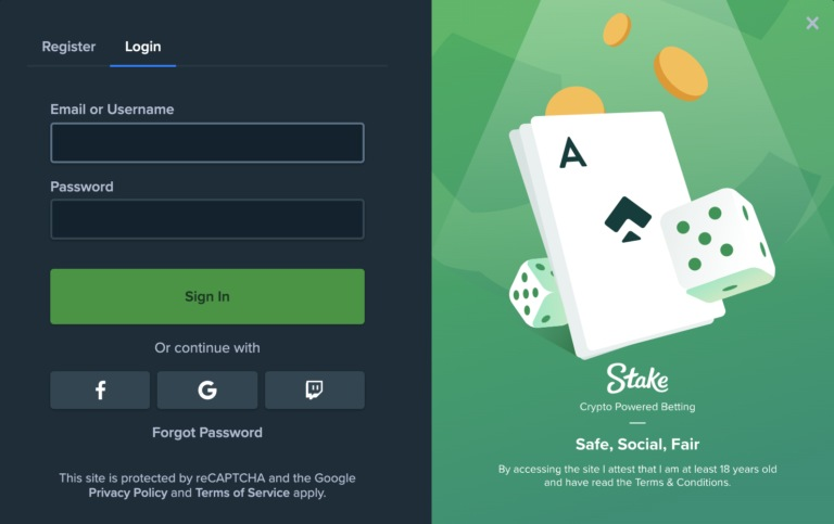 Join Stake Casino Today