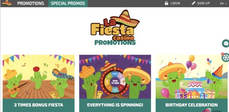 La-Fiesta Casino Offers
