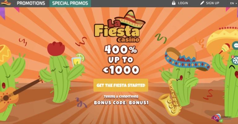 La-Fiesta Casino Welcome Bonuses