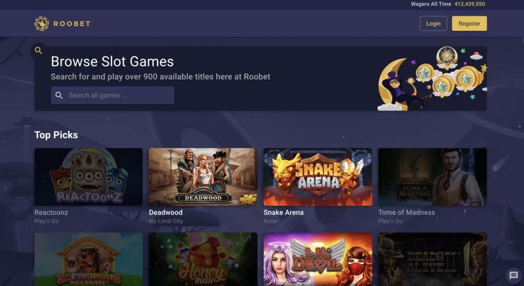 No Deposit Bonus at RooBet Online Casino