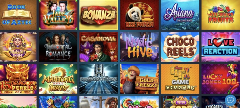 Play the best casino games at WebbySlot Casino