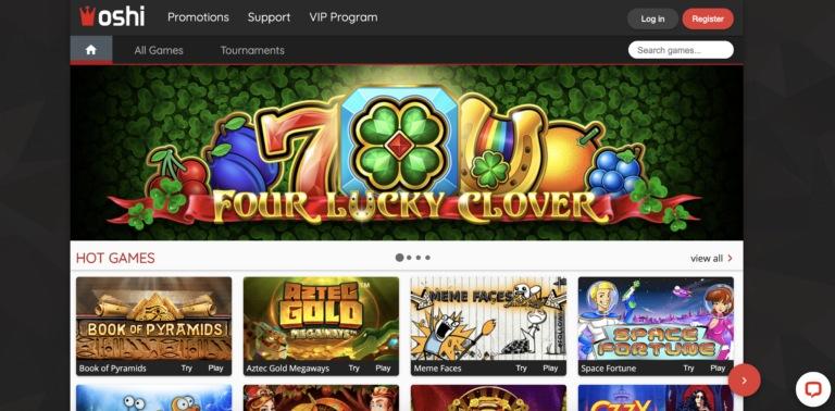 Read Oshi Casino Review