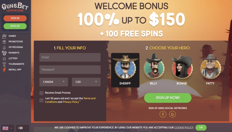 Read our GunsBet Casino Review for Info on this Top Casino
