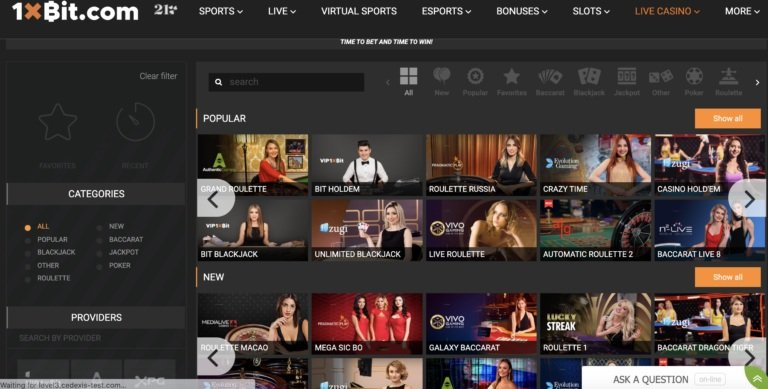 The Best 1xBit Online Casino Review