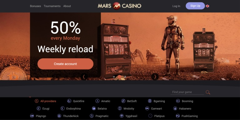 The Best Mars Casino Review