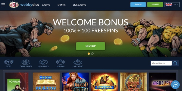 WebbySlot Casino bonuses and more