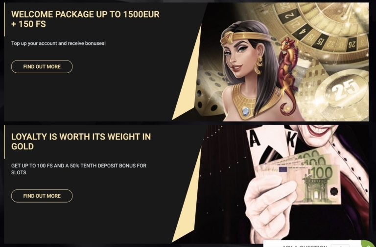 1xSlot Casino Welcome Bonuses