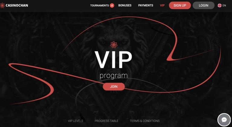 CasinoChan VIP Scheme