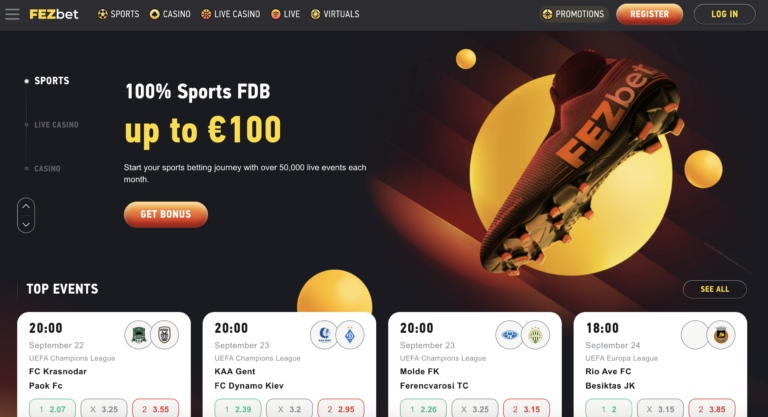 Join Fezbet for Great Games and More