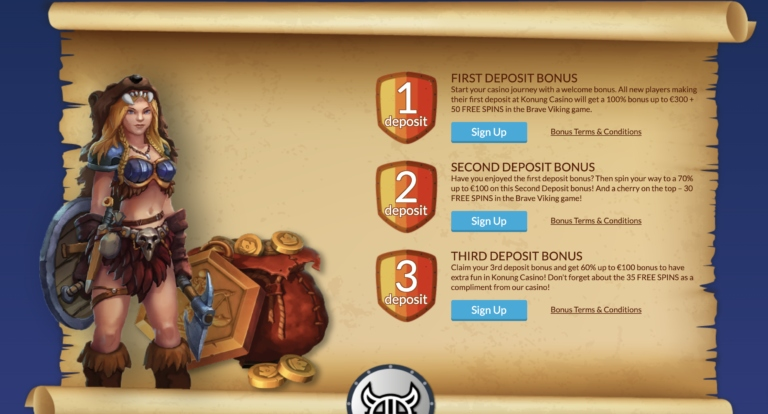 Top Games and More at Konung Casino