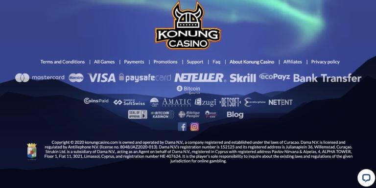 Win Big at Konung Casino