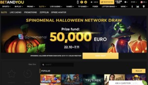 BetandYou Casino and Sportsbook Review