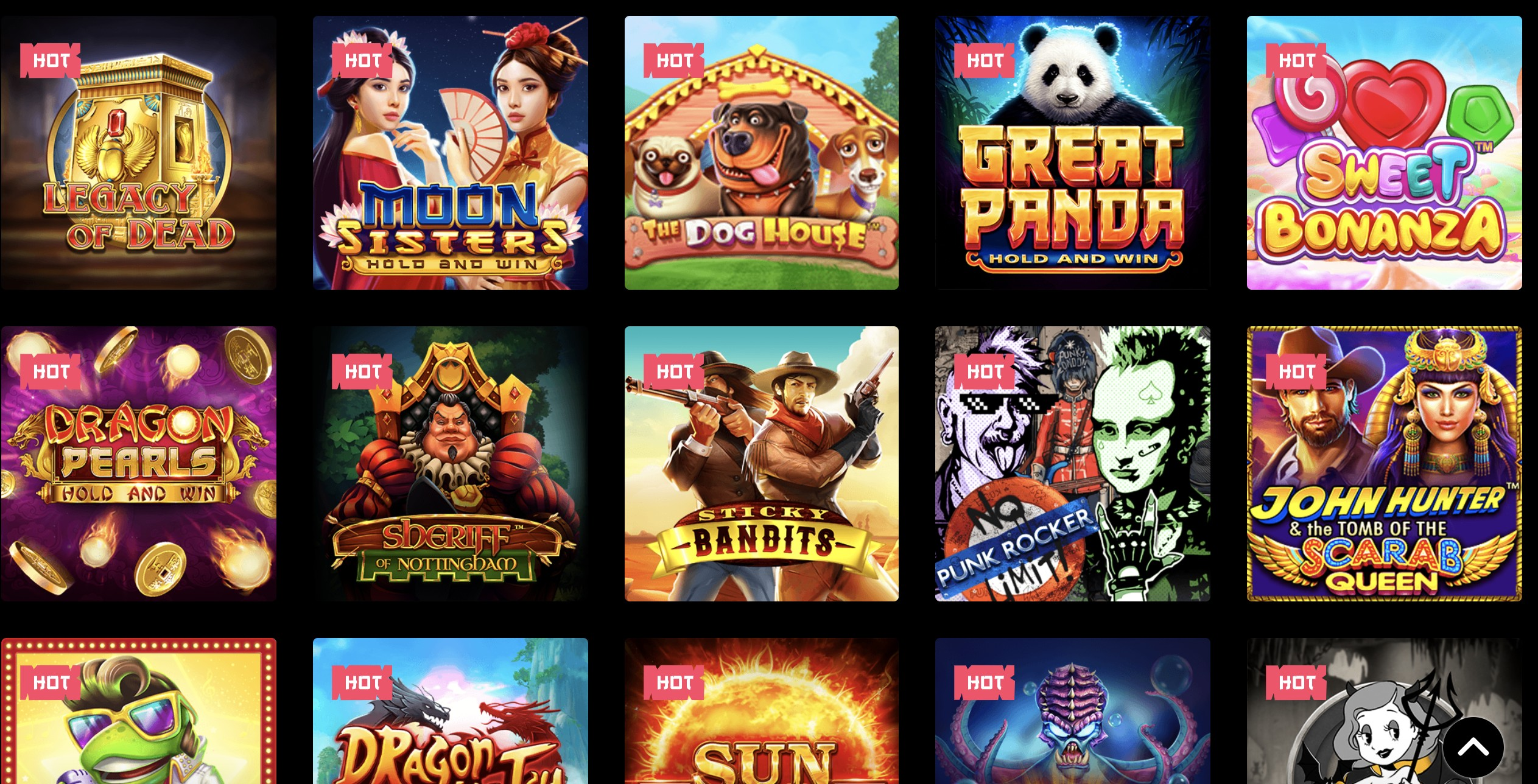 Casino Games at Spin Samurai