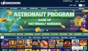 CosmosWins Casino Online Review