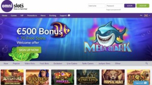 Omni Slots Review and Promo Codes