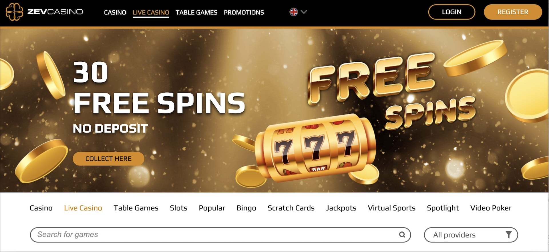 Read our Zev Casino Review for Promo Codes and More