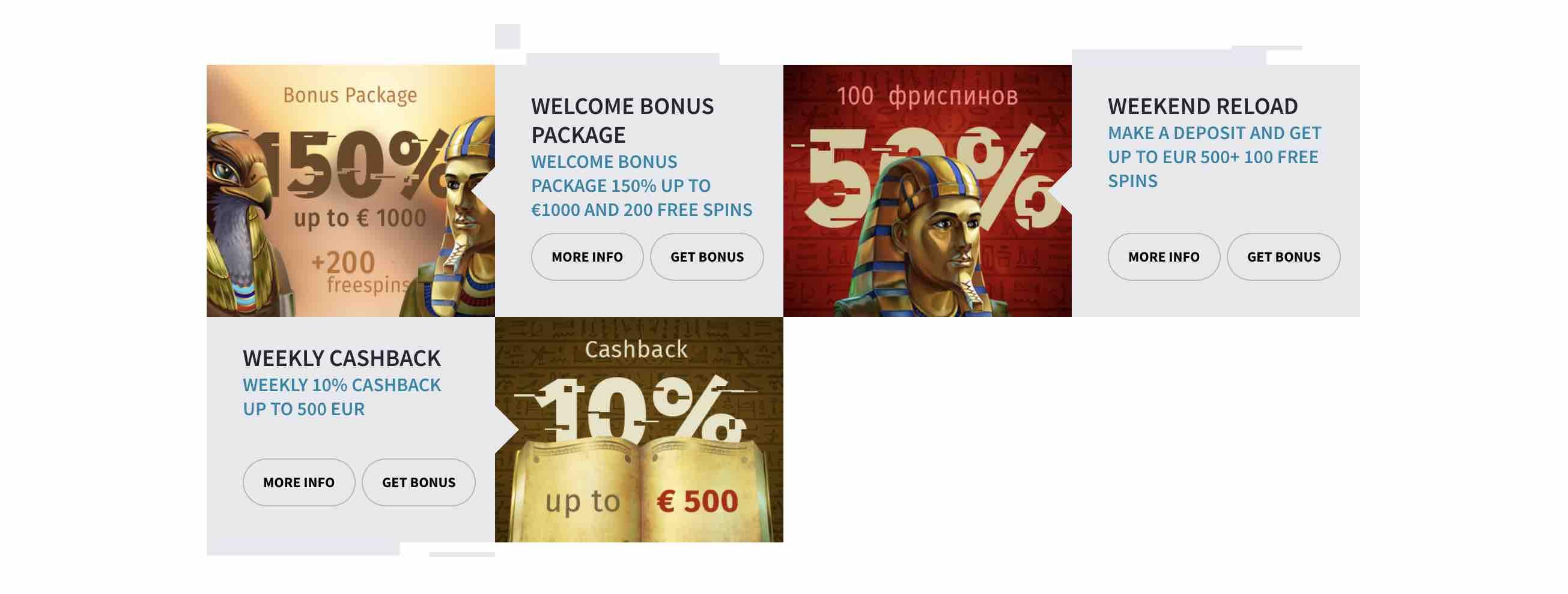 All Reels Casino Bonuses