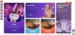 Cadabrus Games and Bonuses