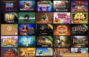 Casino Games at Horus Casino