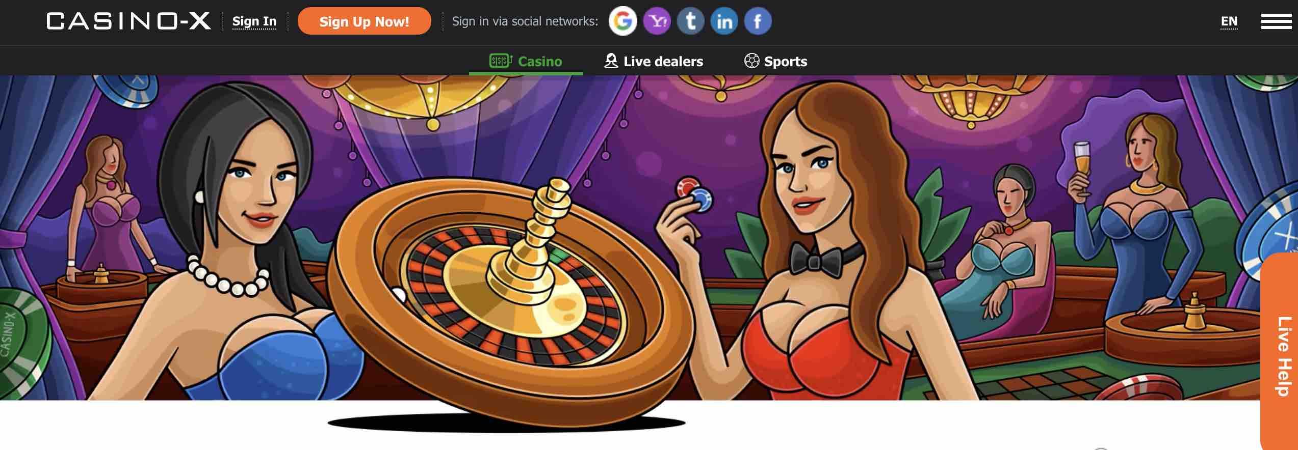 Casino X Roulette and Blackjack