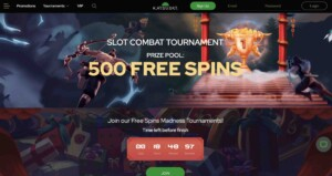 Free Spins at KatsuBet