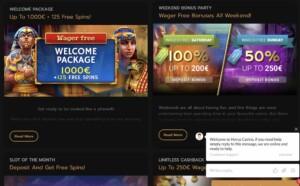 Horus Casino Bonuses and Promotions