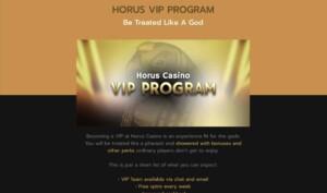 Horus Casino Loyalty Program
