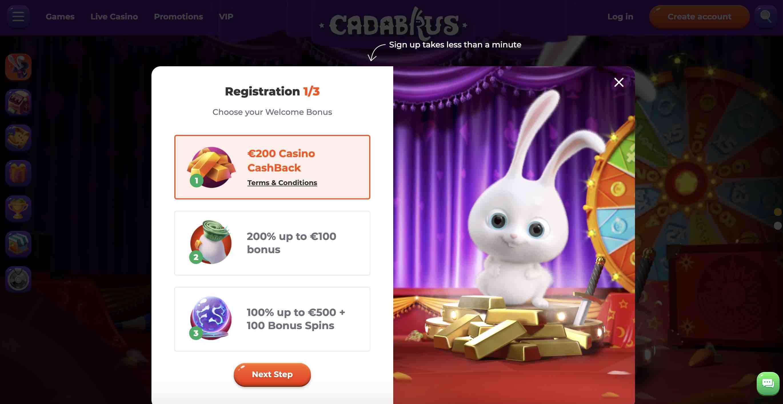 Join Cadabrus Casino Today