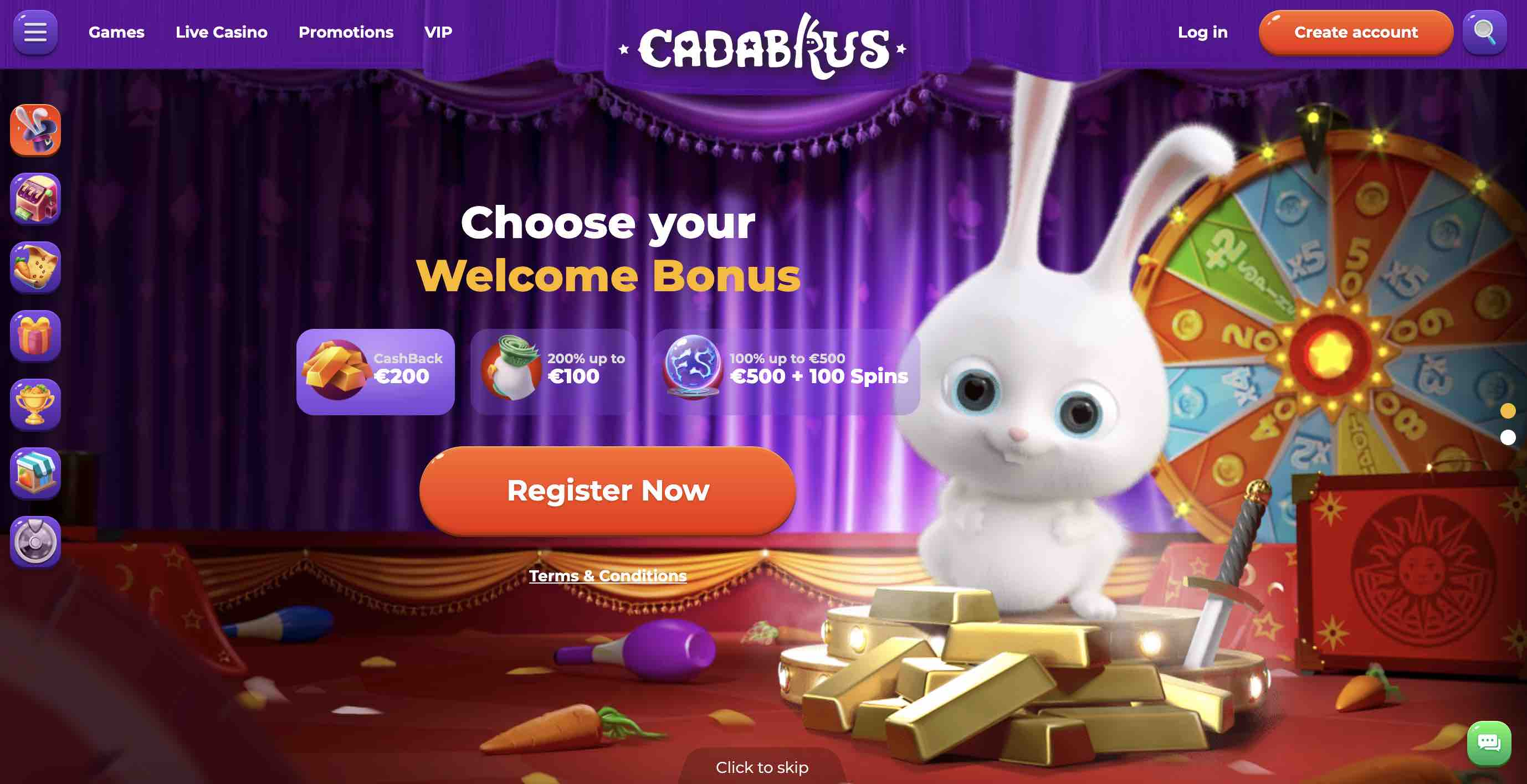 Play Cadabrus Casino Online