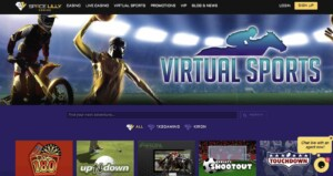 Space Lilly Casino Virtual Sports