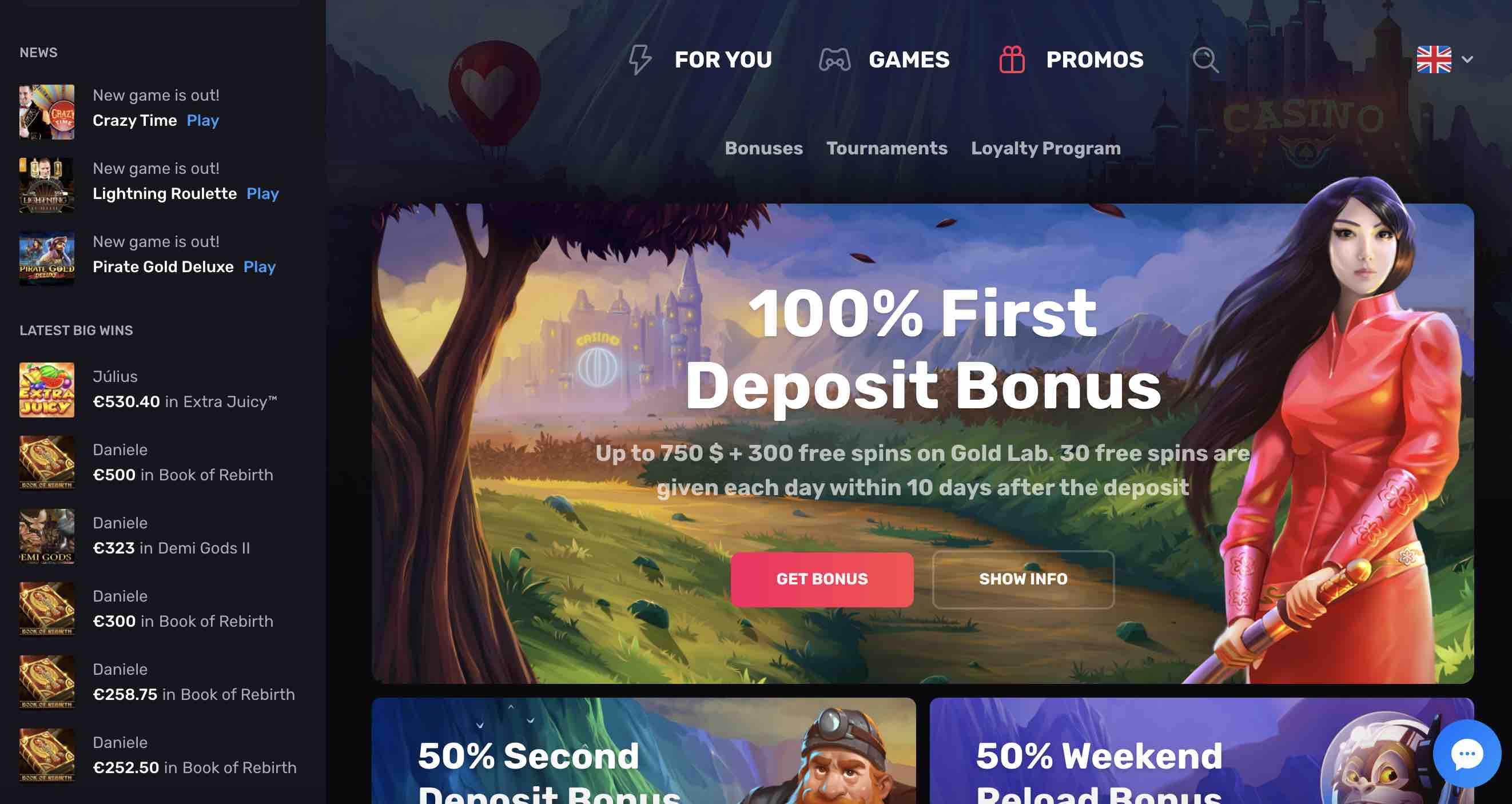 Win Big at Casinomia