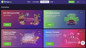 Bongo Casino Promotions and Bonuses