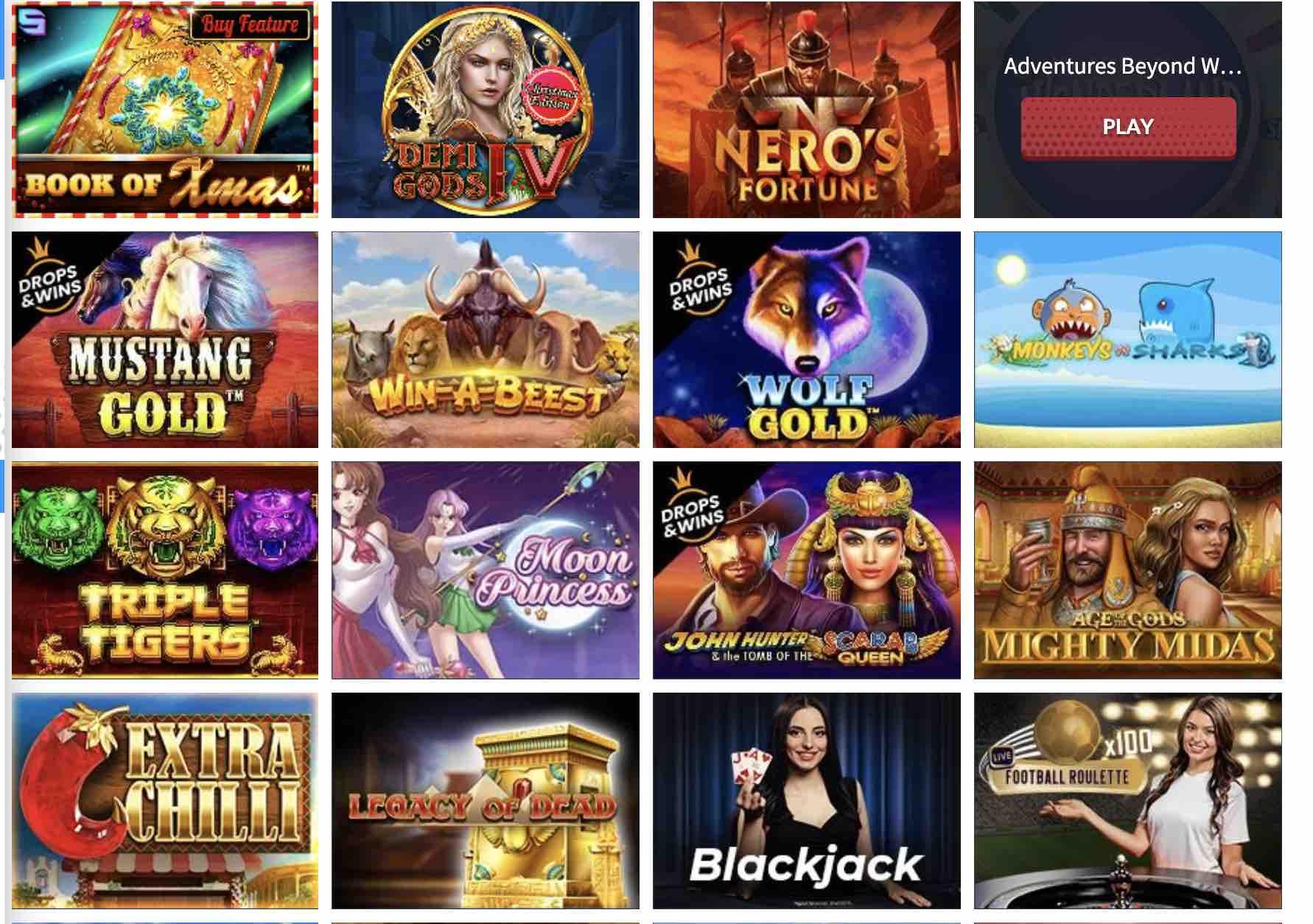Mr Bet Casino Games